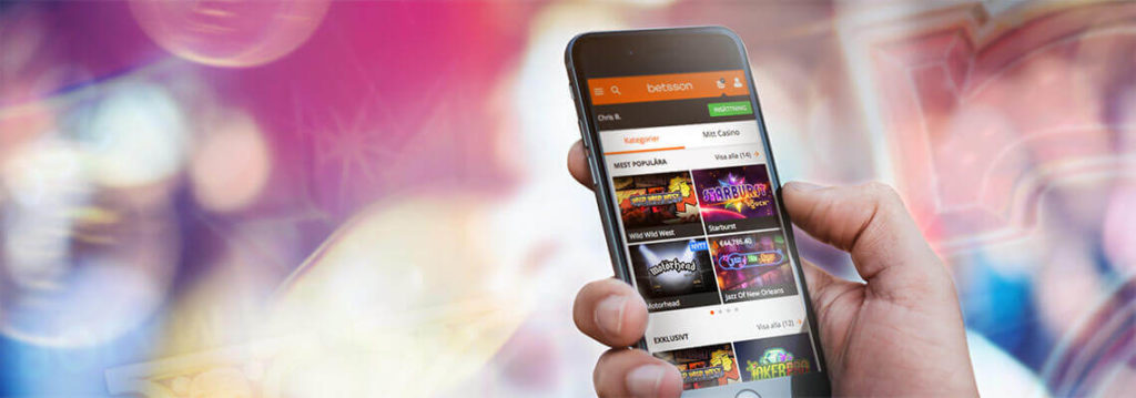 Online casino op de mobiel: